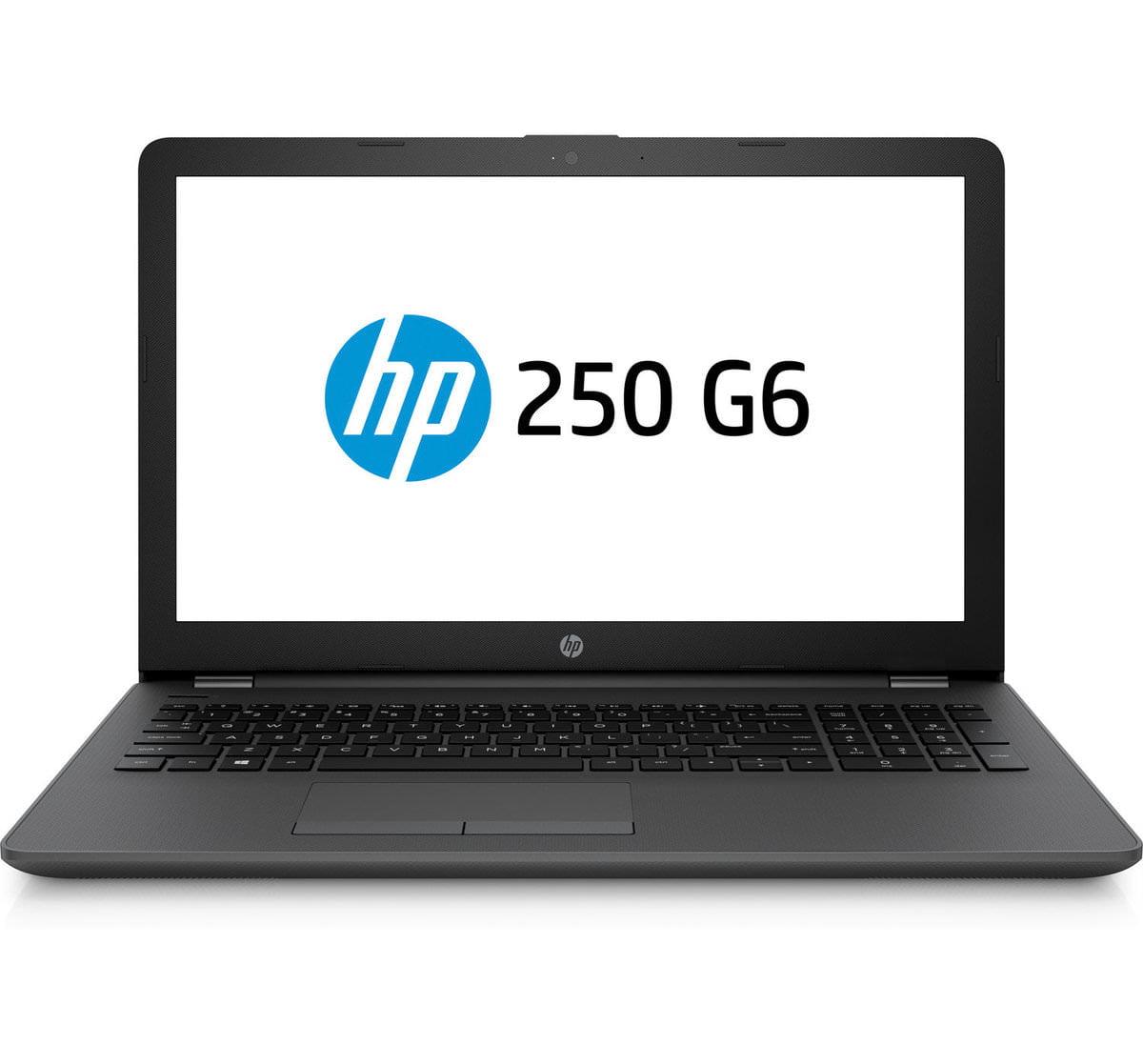 "HP 250 G6 15.6"" LCD Notebook - Intel Core i3 (7th Gen) i3-7020U Dual-core (2 Core) 2.3GHz - 4GB DDR4 SDRAM - 500GB HDD - Windows 10 Pro"