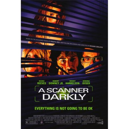 Pop Culture Graphics MOVAH2185 A Scanner Darkly Movie Poster Print, 27 x 40 - image 1 of 1