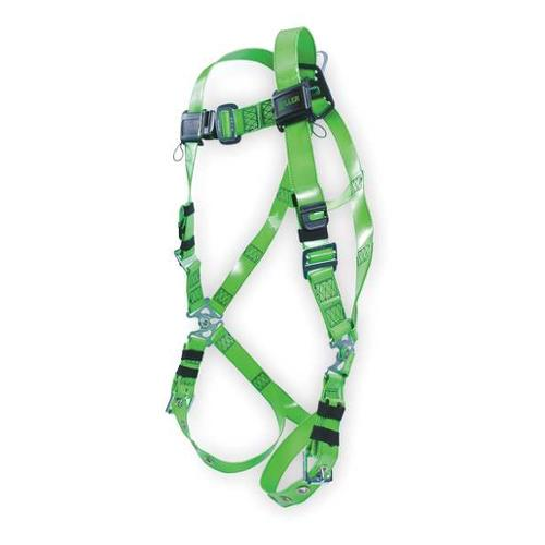 Miller By Honeywell Full Body Harness, Green RPC-TB/UGN