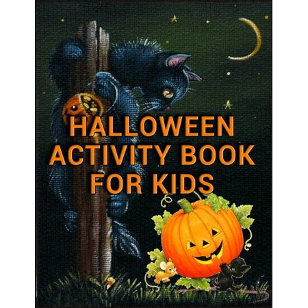 Best Halloween Hostess Gifts (Halloween Activity Book for Kids: Best Halloween Coloring Book for Adults Relaxation With 100+ unique color illustration for every kids, girls, gift)