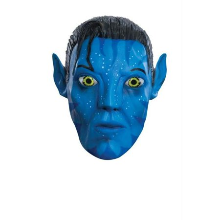 Costumes For All Occasions Ru4706 Avatar Jake 3/4 Mask](Avatar Custome)