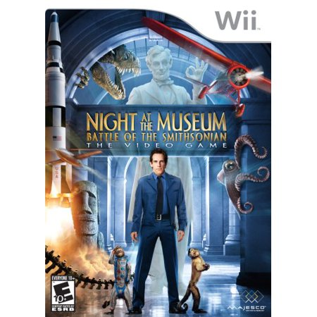 Night at the Museum: Battle of the Smithsonian - Nintendo Wii - image 1 of 1