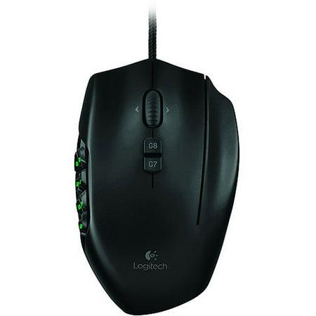 Logitech G600 MMO Gaming Mouse - Walmart.com
