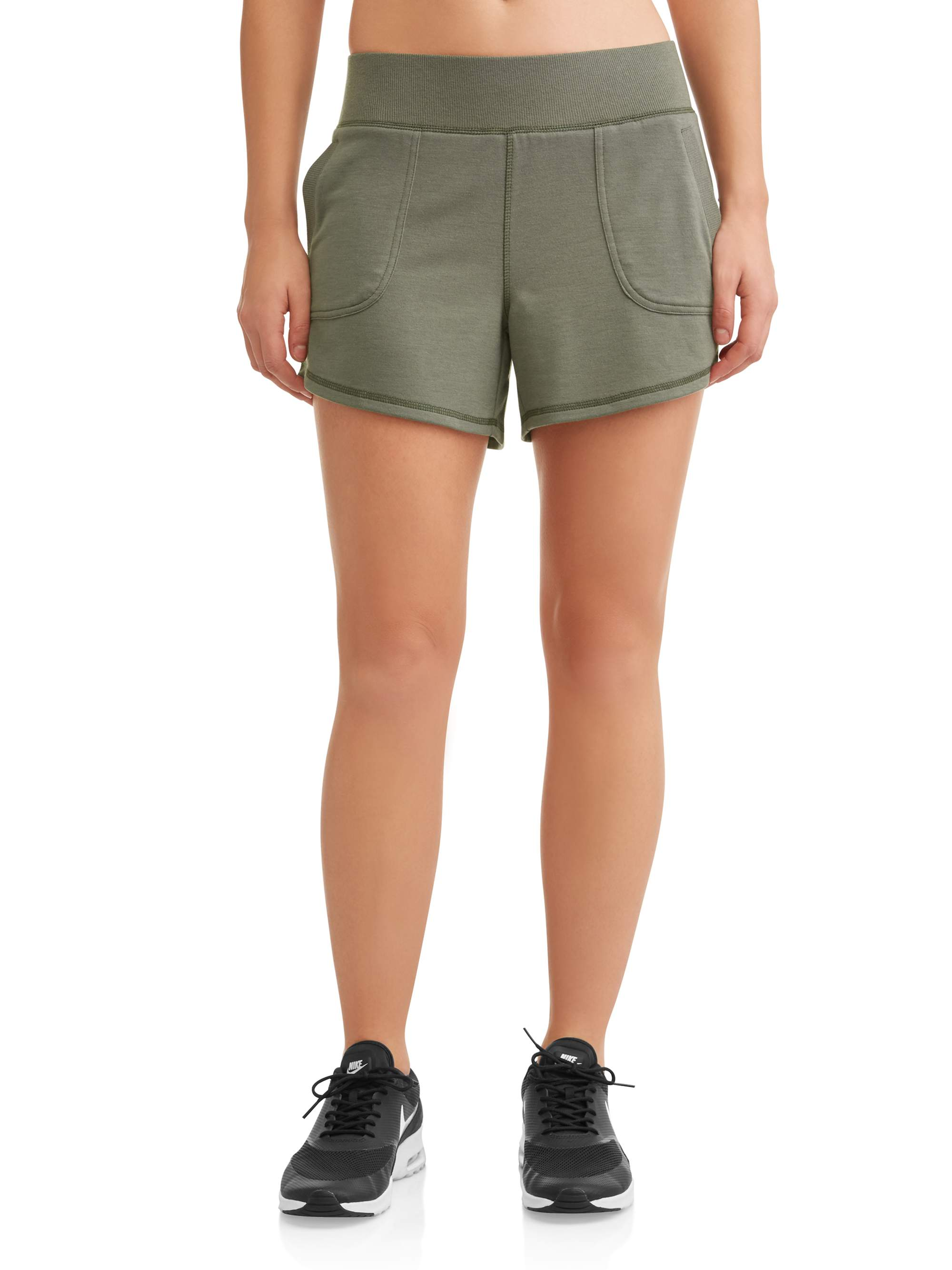 3084210073df Athletic Works - Women's Core Active Gym Short - Walmart.com