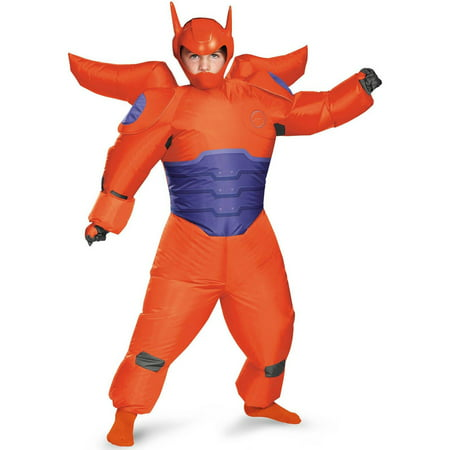 Hero Halloween Costumes (Big Hero 6 Red Baymax Inflatable Child Halloween Costume, 1)