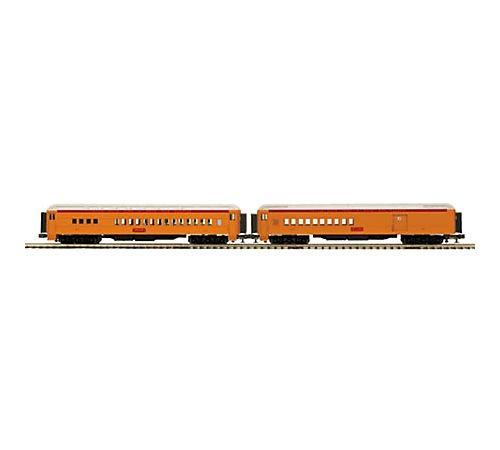 MTH Electric Trains O 70' Madison Combine/Diner, SSH Mult...