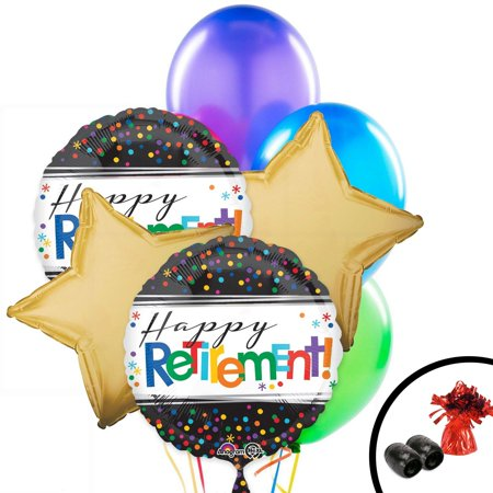 Retirement Balloon Bouquet (Retirement Balloons)
