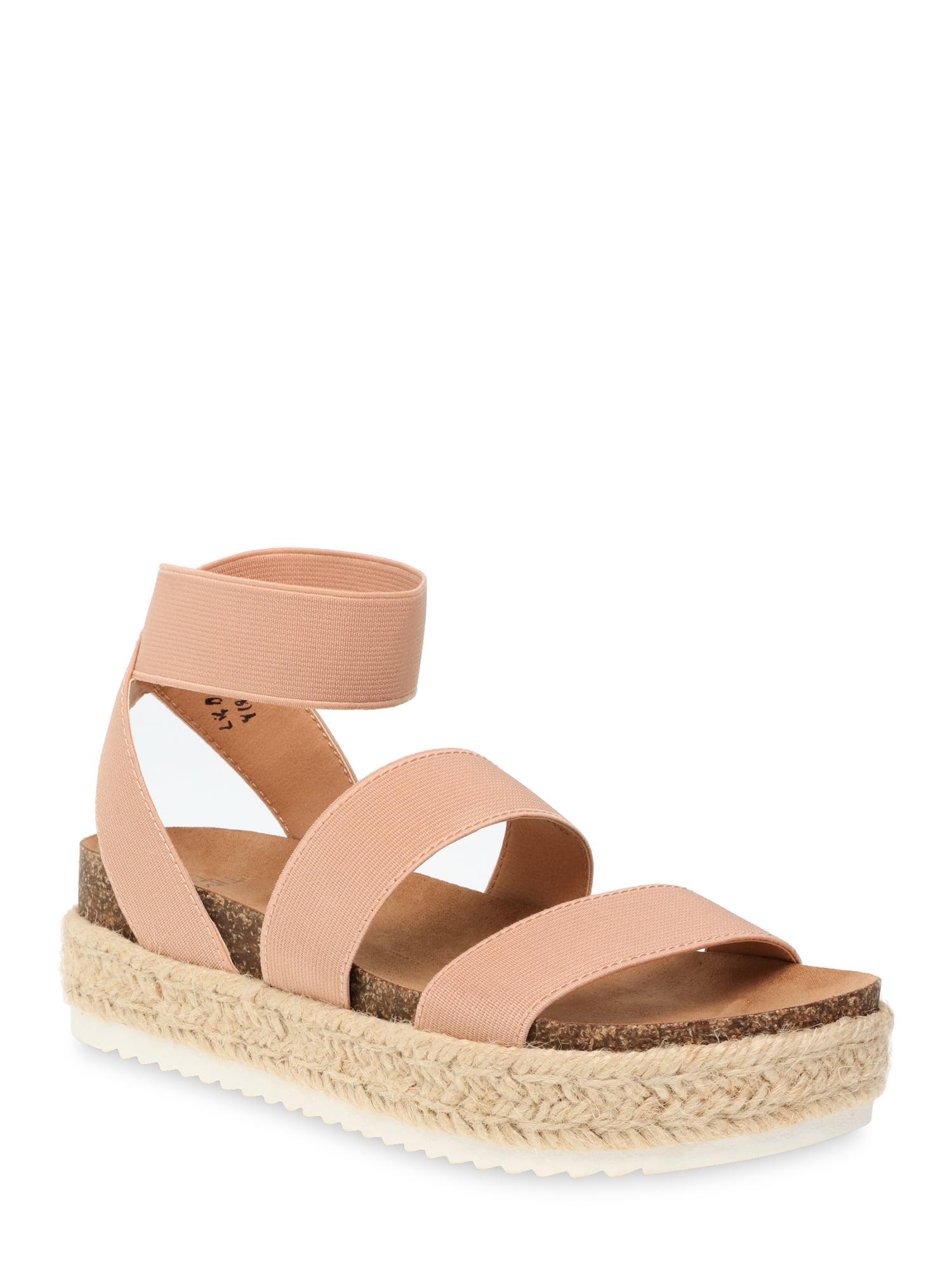 flatform sandals wide