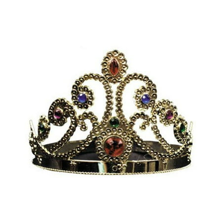 Gold Adjustable King and Queen - King And Queen Crown