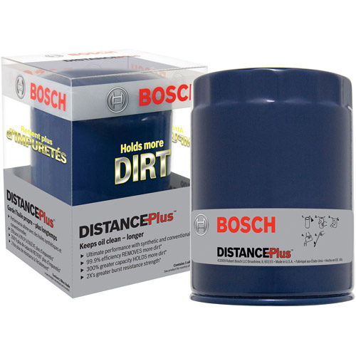 Bosch Distance Plus Oil Filters, Model #D3330