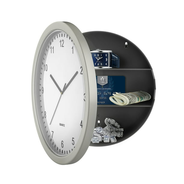 Hidden Compartment Wall Clock 10