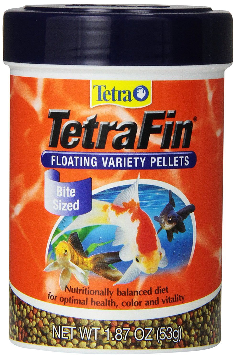 77035 Fin Floating Variety Pellets, Nutritionally Balanced Staple Food for All Goldfish By Tetra by