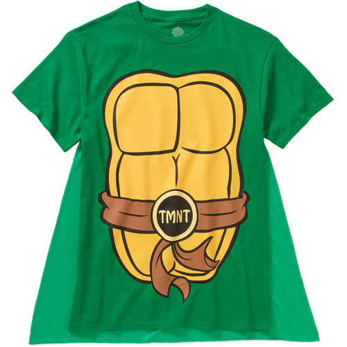 Teenage Mutant Ninja Turtles Men's Cape Tee