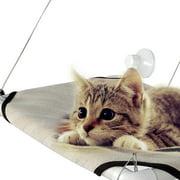 New Big Pet Sunny Seat Window Perch Bed Hanging Shelf Seat Cat  Cot With 4 Suckers ECLNK
