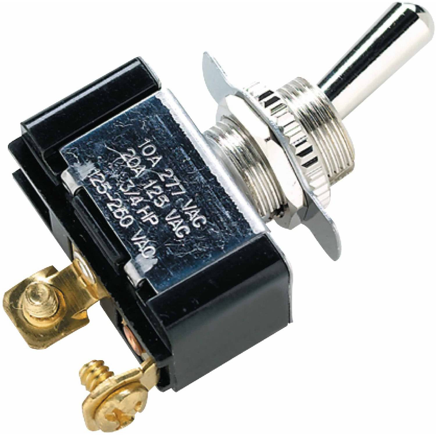 Seachoice 2-Position Toggle Switch with 2 Screw Terminals Off/On