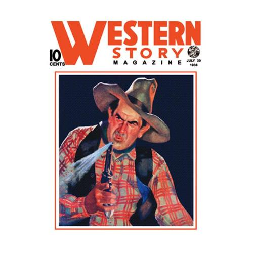 Buy Enlarge 0-587-10661-1P12x18 Western Story Magazine- The Shooter- Paper Size P12x18