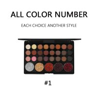 29 Colors Eyeshadow Palette, URHOMEPRO Warm Neutrals Highly Pigmented Colors Makeup Kit for Beginners Traveling Professional, Warm Neutrals Eyeshadow for All Ages and Skin Tones, S5713