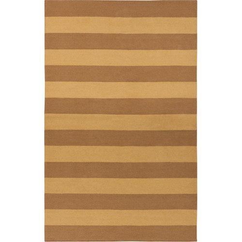Surya Frontier Caramel/Brown Sugar Striped Area Rug