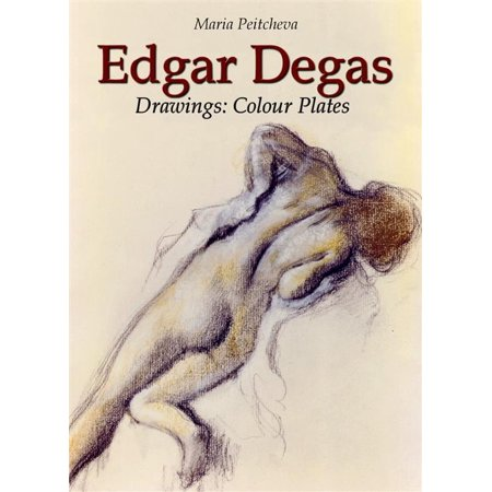 Edgar Degas Drawings: Colour Plates - eBook