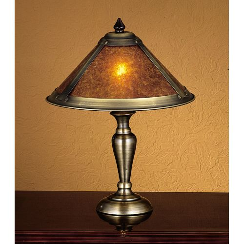 Meyda Tiffany 23028 Stained Glass / Tiffany Accent Table Lamp from the Dirk Van