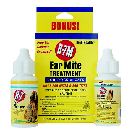 Rich Health R - 7 Professional Ear Mite Kit traitement