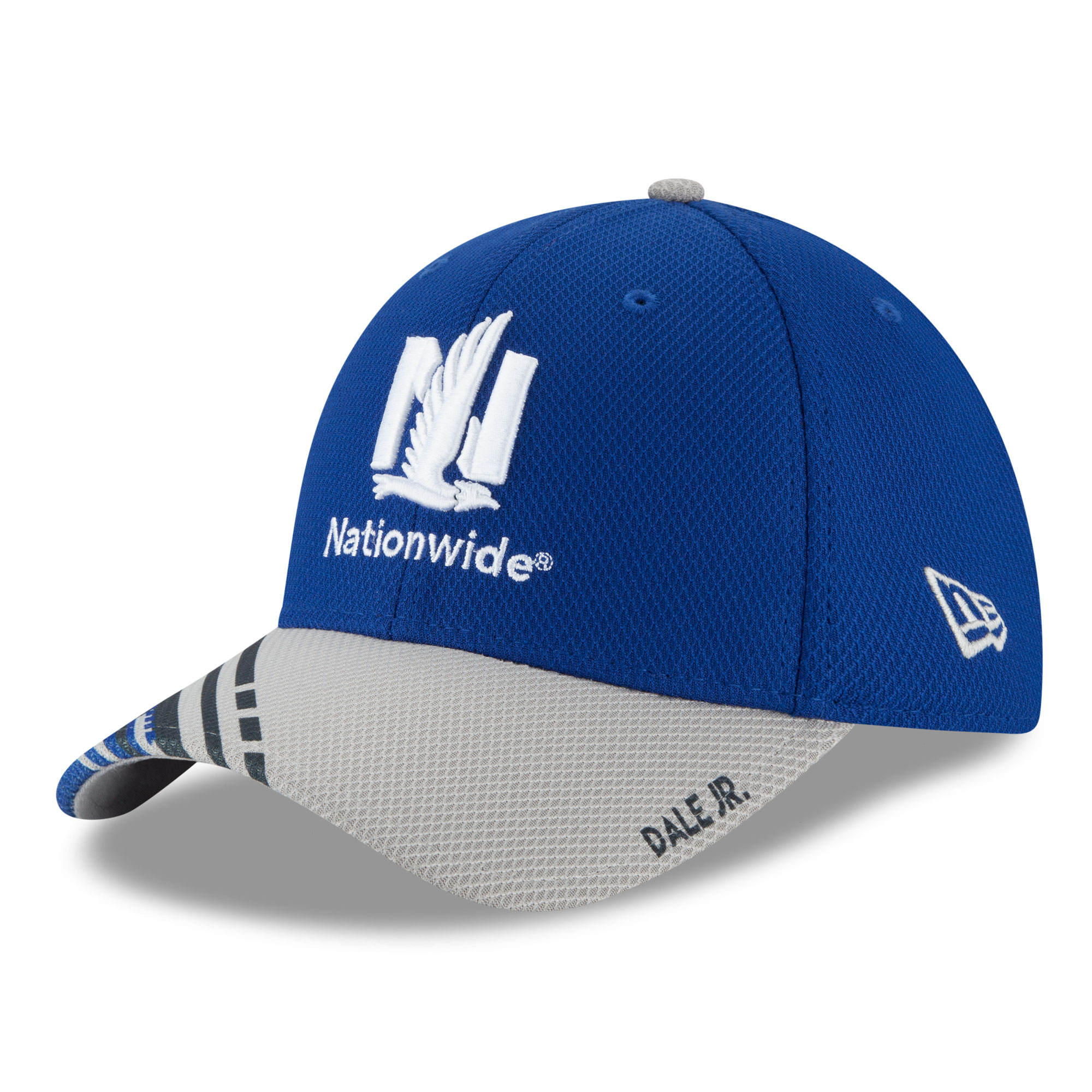 Dale Earnhardt Jr. New Era Visor Slick 39THIRTY Flex Hat - Royal