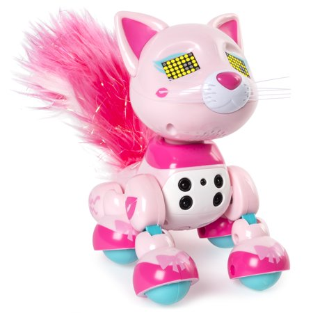 Zoomer Meowzies, Chic, Interactive Kitten with Lights, Sounds and