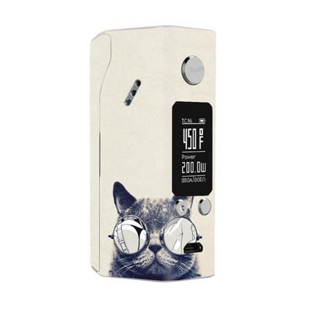 Skin Decal For Wismec Reuleaux Rx200S Vape Mod / Cool Cat Kat Shades Glasses Tumblr](Cool Halloween Ideas Tumblr)