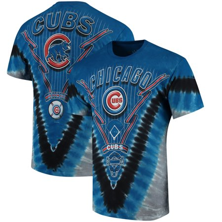 Chicago Cubs Tie-Dye T-Shirt - Royal - Chicago Cubs Mens T-shirts