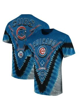 bb195f5e Product Image Chicago Cubs Tie-Dye T-Shirt - Royal Blue. Liquid Blue
