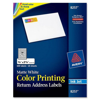 Avery Mailing Label Ave8257 Walmart
