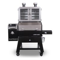 Pit Boss Lockhart Platinum Series, WiFi and Bluetooth Wood Pellet Grill and Smoker