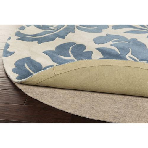 Overstock Premium Felted Reversible Dual Surface Non-slip Rug Pad (5' Round) by Overstock