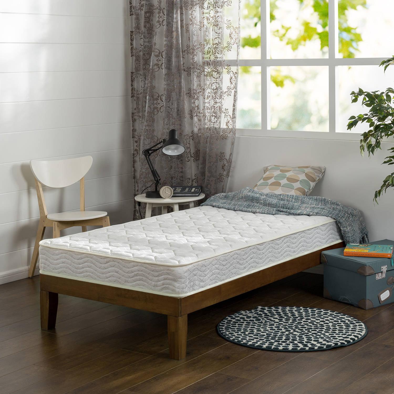 Slumber 1 Comfort 6� Bunk Bed Spring Mattress, Multiple Sizes by ZINUS
