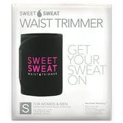 Sports Research Sweet Sweat Waist Trimmer, Small, Black & Pink, 1 Belt