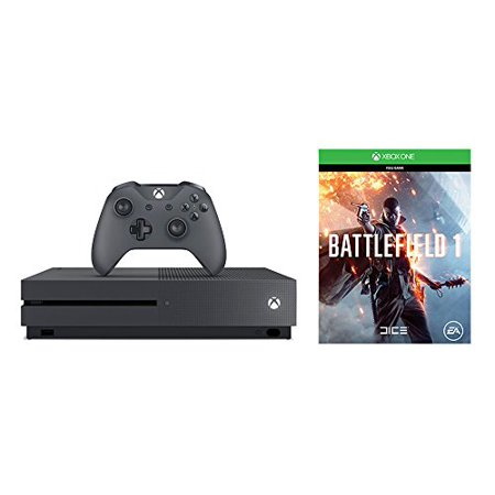 Xbox One S Battlefield 1 Special Edition Bundle (500GB) - Storm