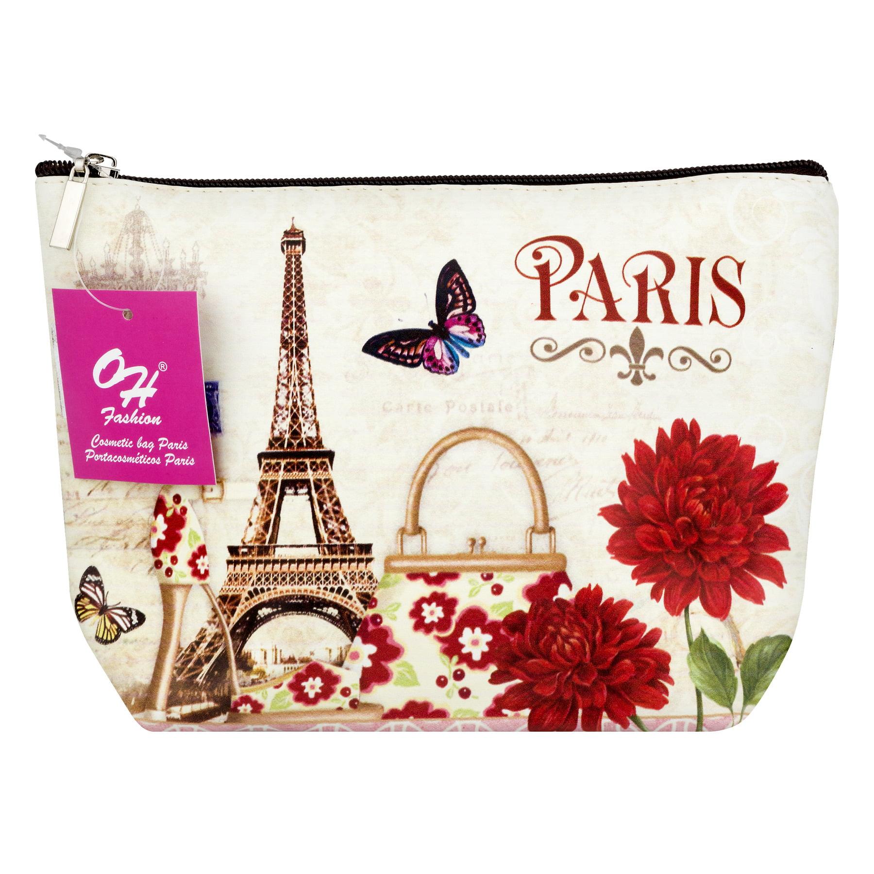 OH Fashion Cosmetic Bag, Paris, 1.0 CT