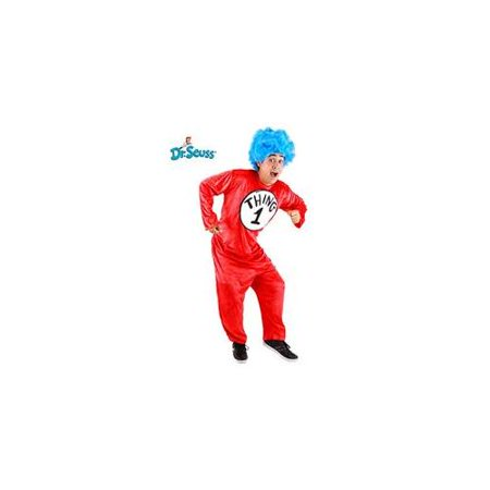 Dr. Seuss Thing 1 & 2 Costume Adult - Costumes Thing 1 And Thing 2