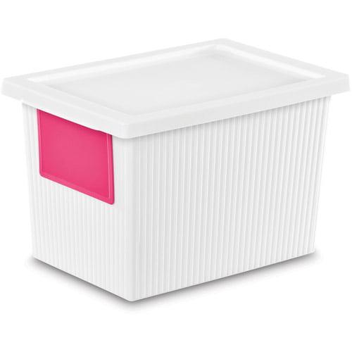 Sterilite 5.4 Quart ID Box- White