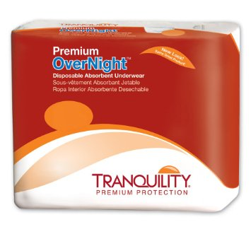 Adult Absorbent Underwear Tranquility Premium OverNight Pull On  Disposable Heavy Absorbency