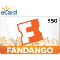 Fandango $50 Gift Card (email Delivery)