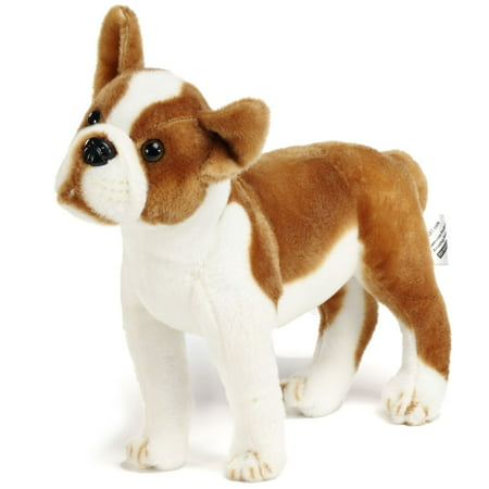 Baldric the Boston Terrier Boxer | 16 Inch Large Dog Stuffed Animal Plush | By Tiger Tale Toys Dog Stuff Animals
