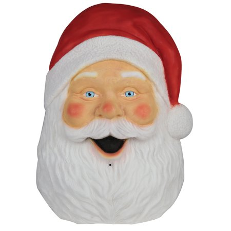 - Santa Plaque with Sound and Lights Christmas Decoration