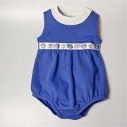 BUBBSDBL36 Balloon Bodysuit - Dark Blue, 3 -6 months