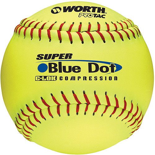 "Worth Sports Pro Tac Super Blue Dot W602418 Softball 12"" 47 525 by Worth"