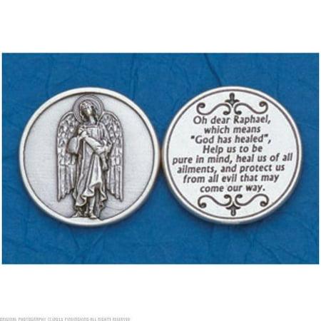 25 Archangel Raphael Prayer (Prayer Coin)