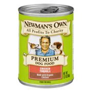 Newman`s Own Organics Chicken Dog Food Organic 12.7 Ounce