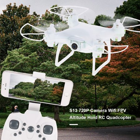 Hold Gyro (S13 720P Camera Wifi FPV 6-Axis Gyro Altitude Hold Headless RC Quadcopter Drone)
