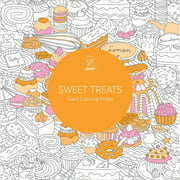 Lark Books Sweet Treats Giant Coloring Poster