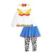 Disney Toy Story Jessie Baby Girls Costume T-Shirt Leggings & Headband 12 Months
